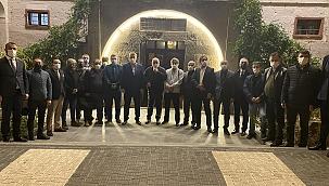 MHP İl Başkanı İnternet Gazetecileri ile buluştu