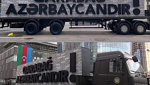 Azerbaycan'dan Ermenistan'a plakalı yanıt