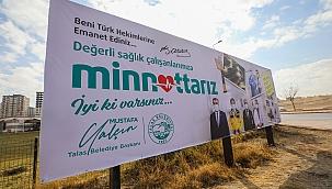 Başkan Yalçın'dan sağlık çalışanlarına 'Minnetarız' ilanı