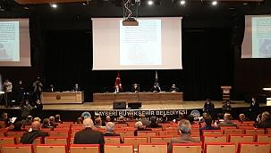 Büyükşehir Meclisi yılın son toplantısını yaptı