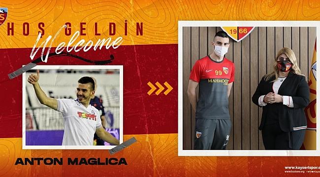 Anton Maglica Kayserispor'da