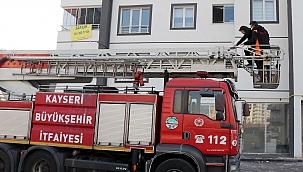 Kayseri'de eşinin darbedip, odaya kilitlediği kadın kurtarıldı