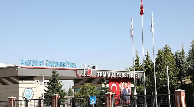 Kayseri Üniversitesi Kütüphanesine Milli Şairimiz Mehmet Akif Ersoy'un İsmi Verildi