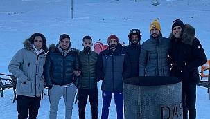 Kayserisporlu futbolcular Erciyes'te stres attılar
