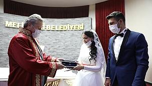 Melikgazi nikah'ta 21. Yüzyılın 21. Yılının 21. günü yoğunluğu
