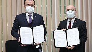 """""""Tezsiz Yüksek Lisans ve Eğitim İşbirliği Protokolü"""" imzalandı"""