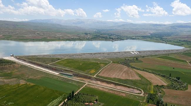 DSİ son 18 yılda Kayseri'de 9 baraj, 4 gölet yaptı