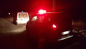 Polisi karşısında görünce bir avuç uyuşturucu hapı yuttu, hastanelik oldu