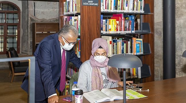 Büyükşehir Kütüphaneleri 775 bin kişi ağırladı, 260 bin ödünç kitap verdi