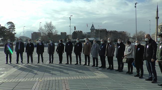Kayseri'de 'Muhasebe Haftası' nedeni ile çelenk koyma töreni yapıldı