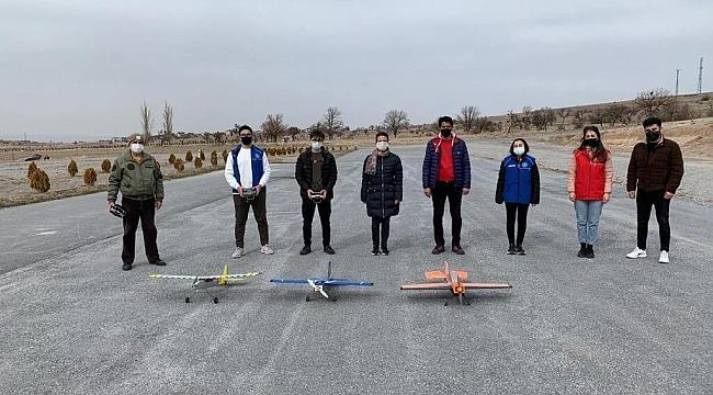 Model uçak testten başarıyla geçti