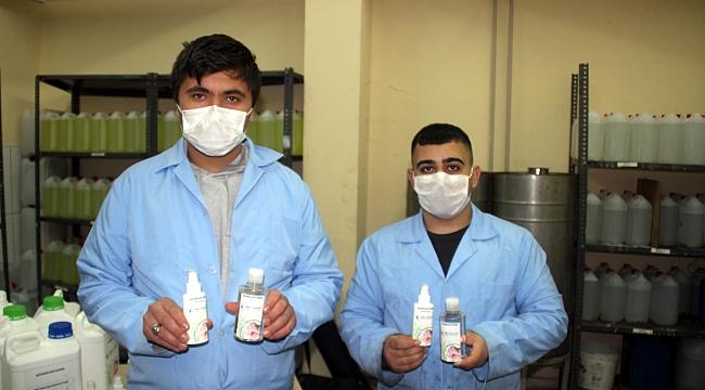 Sıfır alkollü bitkisel dezenfektan ürettiler