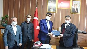 Yeşilhisar Belediyesi'nde imzalar atıldı