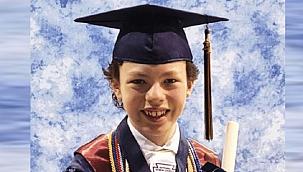 12 yaşında hem lise hem de üniversiteden mezun olacak