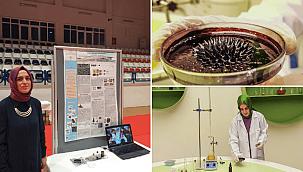 Bilim Merkezi 'Ferrofluid' üretmeyi başardı