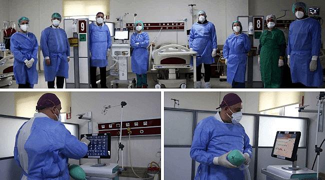 Covid-19 hastaları ventilatörlerle nefes alacak