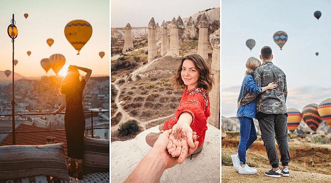 Kapadokya'yı 3 ayda 197 bin 541 turist ziyaret etti