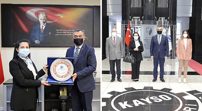 Malta Büyükelçisinden KAYSO'ya Ziyaret