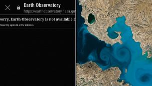 NASA'nın sitesi çöktü