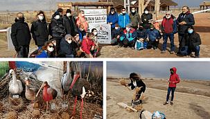 Sultan Sazlığı Kuş Cenneti turistlerin uğrak yeri oldu