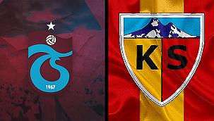 Trabzonspor ile Kayserispor 48. randevuda