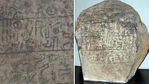Erciyes'in isminin geçtiği 2 bin 800 yıllık kitabe Kayseri'ye getirildi