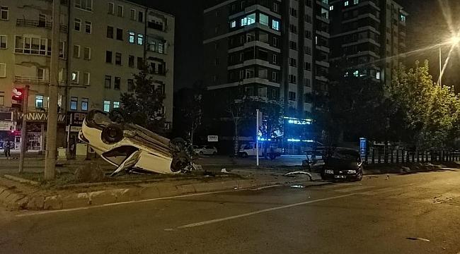 Feci kaza : Ortalık savaş alanına döndü