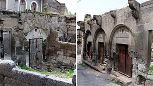 Kayseri'de tarihi çarşı harabeye döndü