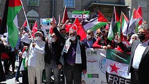Kayseri'den İsrail'e tepki