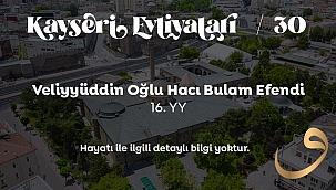 Veliyyüddin Oğlu HACI BULAM