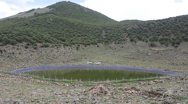 15 bin koyun Erciyes'ten eriyen kar sularıyla rahatladı