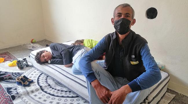 2'si engelli 5 çocuğuyla yaşam mücadelesi veriyor