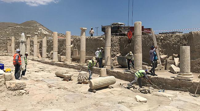 2021'de hedef, 600 arkeolojik kazı