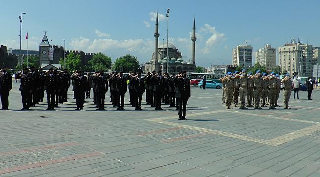 Kayseri'de Jandarma Teşkilatı'nın 182. yılı kutlandı