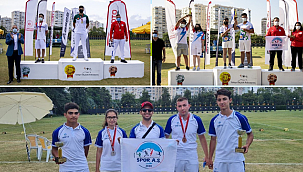 Kayseri Spor A.Ş kupa ve madalyalar ile döndü