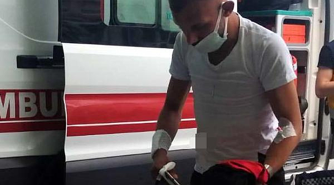 Sokakta bıçaklı saldırıda yaralandı