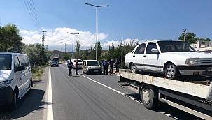 Çaldığı araç ile hırsızlık yapan şahıs yakalandı