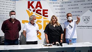 TSYD Kayseri Şubesi'nden Başkan Gözbaşı'na ziyaret