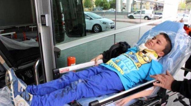 Kayseri'de 2 Ayrı Trafik Kazasında 10 Kişi Yaralandı
