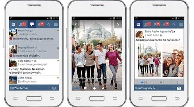 Kota dostu Facebook Lite Türkçe oldu