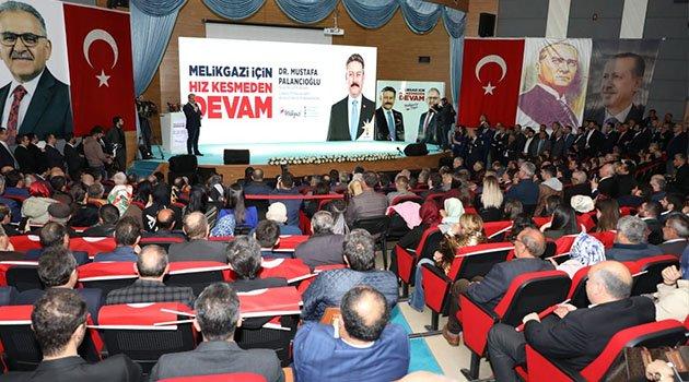 Başkan Palancıoğlu projelerini tanıttı