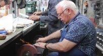 Bıçakçılar Çarşısı'nda 'Bileme' sesleri yükselmeye başladı
